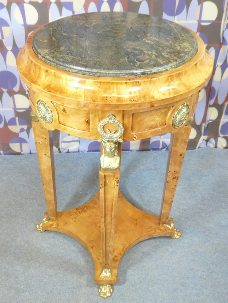 Gu ridon style empire meubles art d co lampe tiffany fauteuil baroque vase m dicis - Meuble tiffany ...