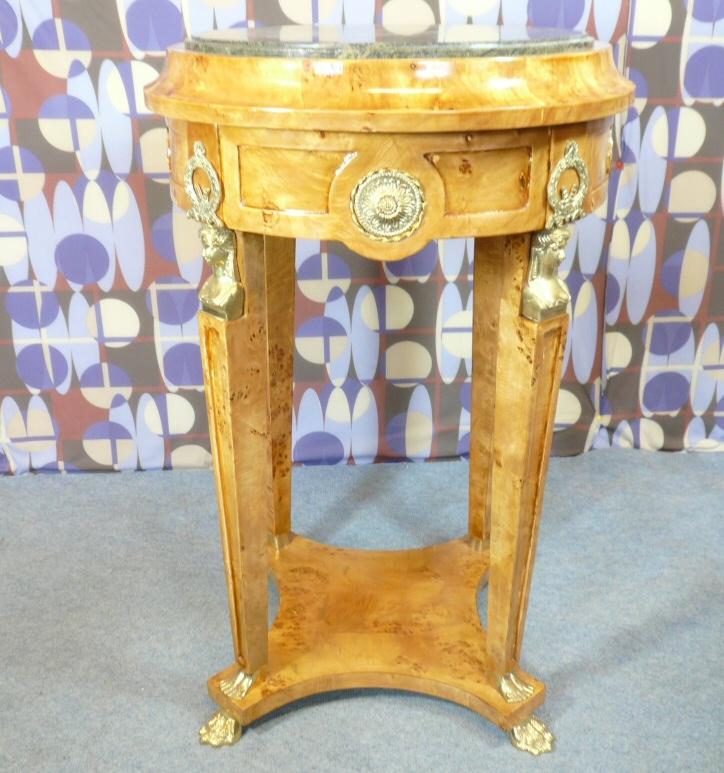 Gu ridon style empire meubles art d co lampe tiffany for Meuble empire