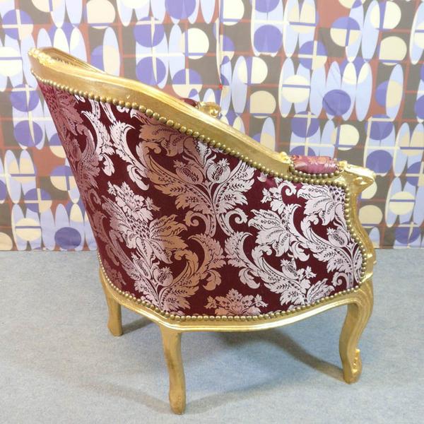 Fauteuil louis xv berg res louis xv fauteuils baroques meubles de style - Fauteuil style bergere ...