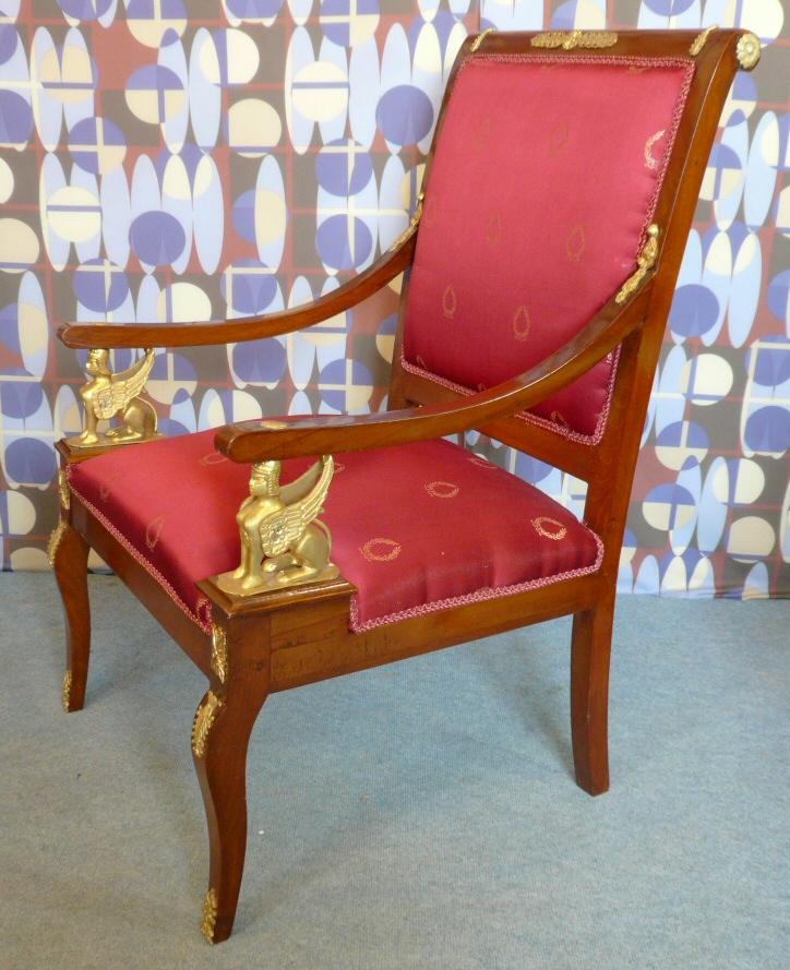 Fauteuil style empire meubles art d co lampe tiffany fauteuil baroque vase m dicis - Meuble tiffany ...