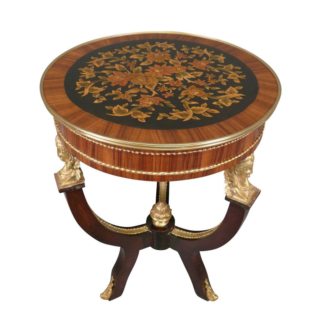 Gu ridon empire meubles de style for Meuble empire