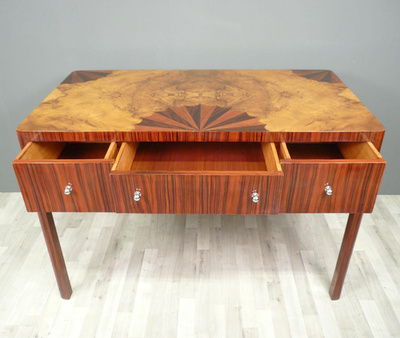 bureau art d co en palissandre l 39 ventail meubles art d co. Black Bedroom Furniture Sets. Home Design Ideas
