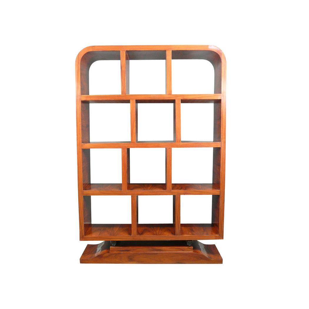 meuble art d co de biblioth que en palissandre etagere. Black Bedroom Furniture Sets. Home Design Ideas