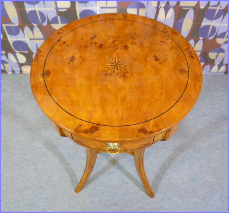 Gu Ridon Style Charles X Meubles Art D Co Lampe