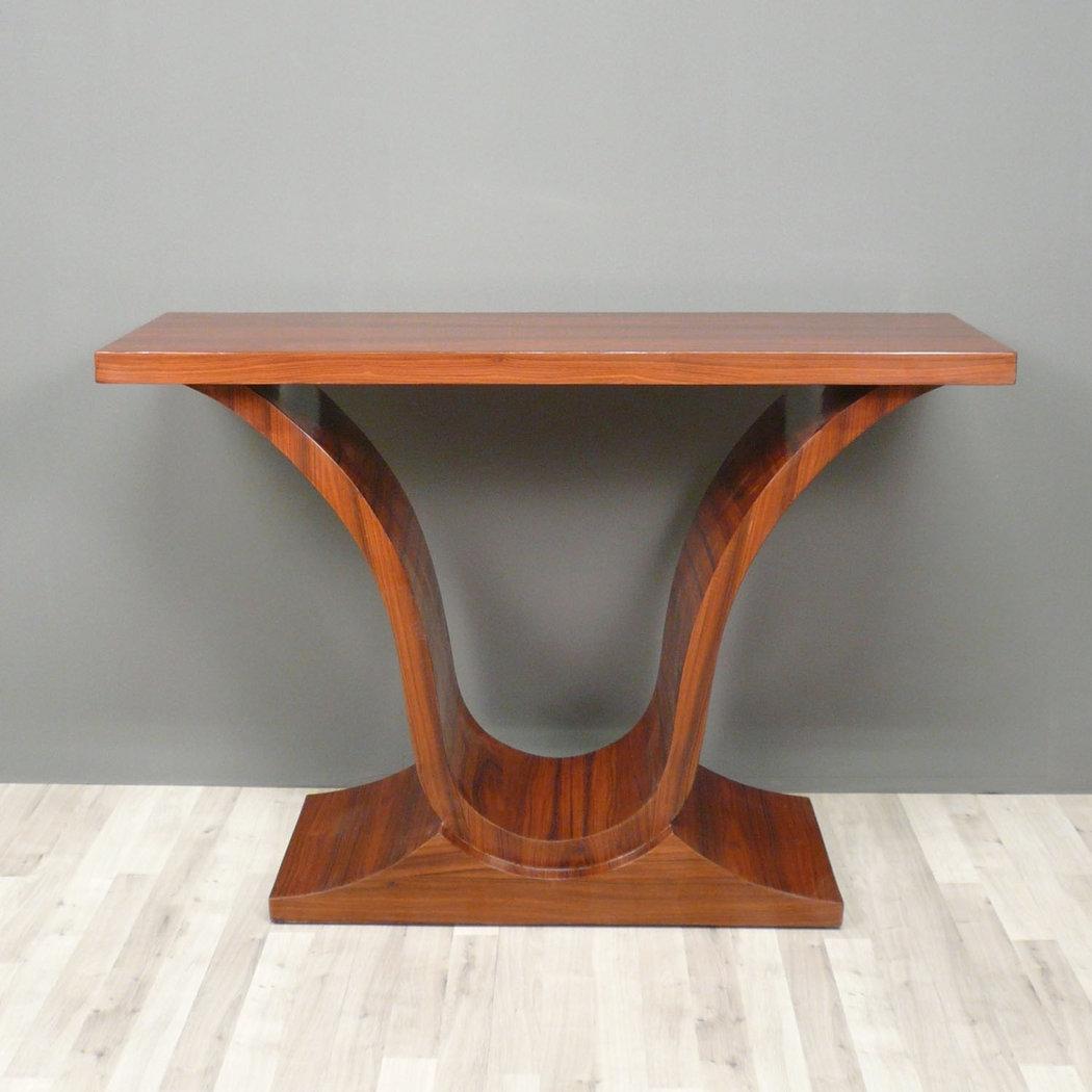 Console art d co en palissandre meubles art d co - Art deco meuble ...