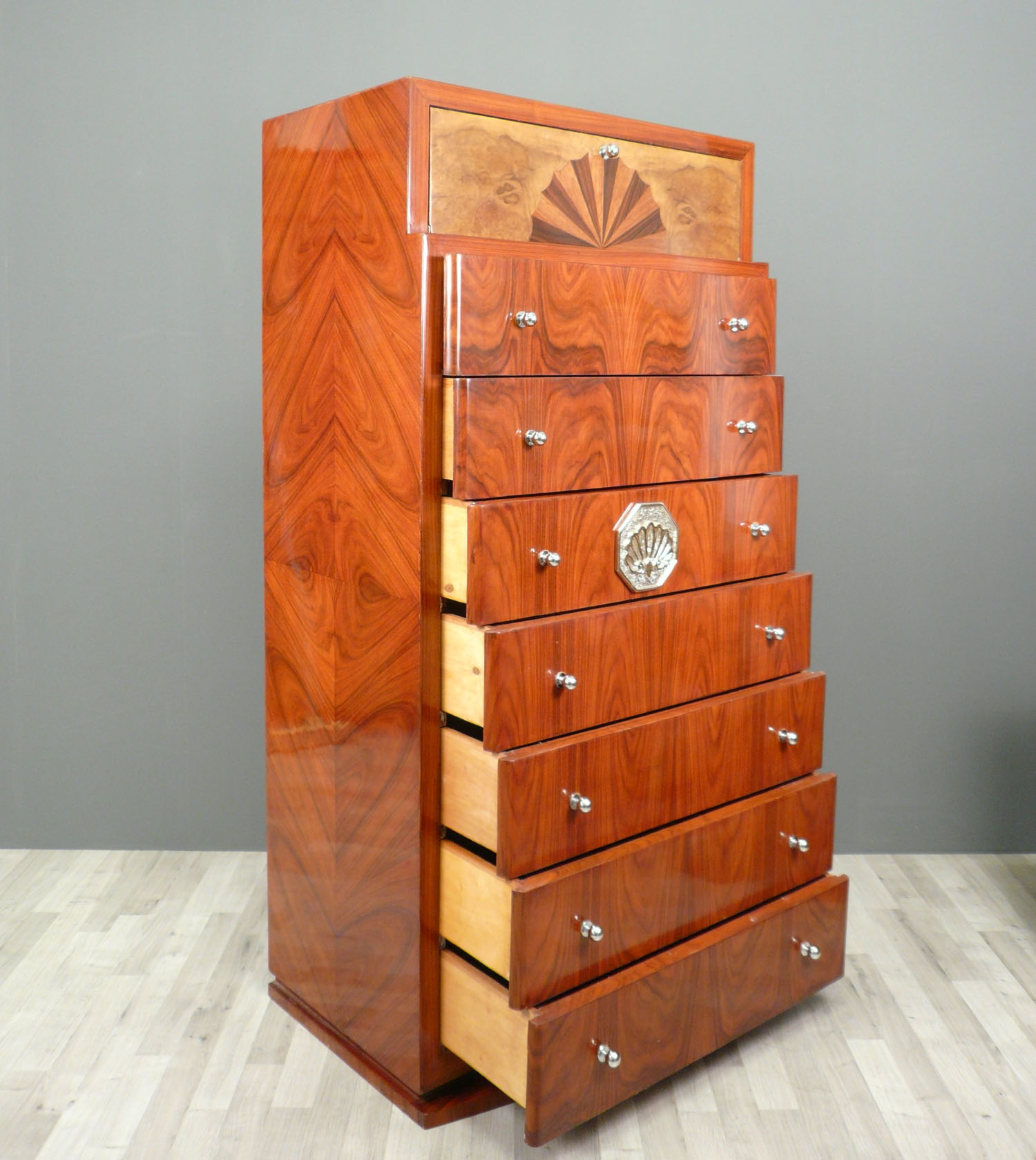 semainier art d co meubles art d co. Black Bedroom Furniture Sets. Home Design Ideas