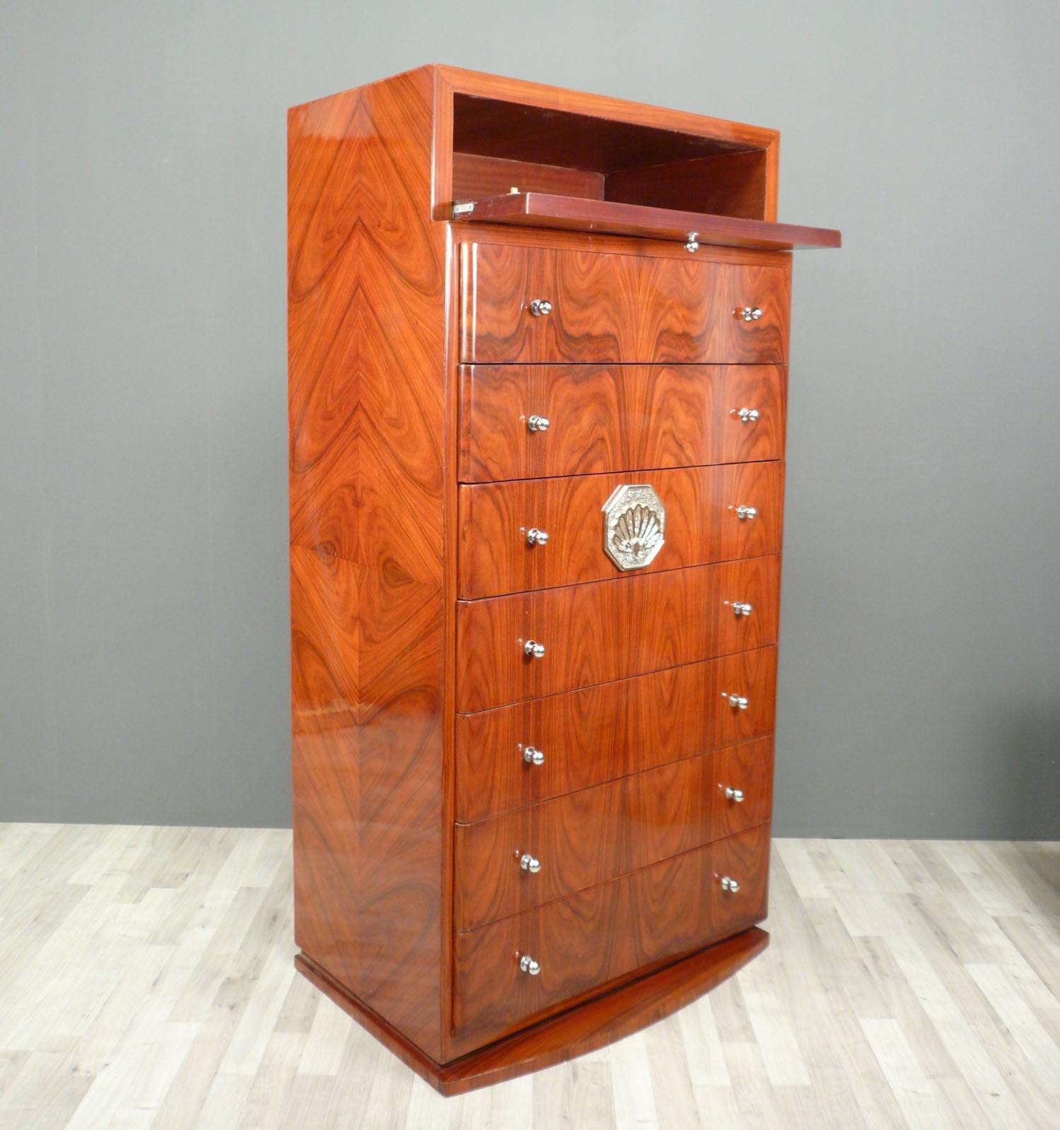 Semainier art d co meubles art d co for Meuble art deco belgique