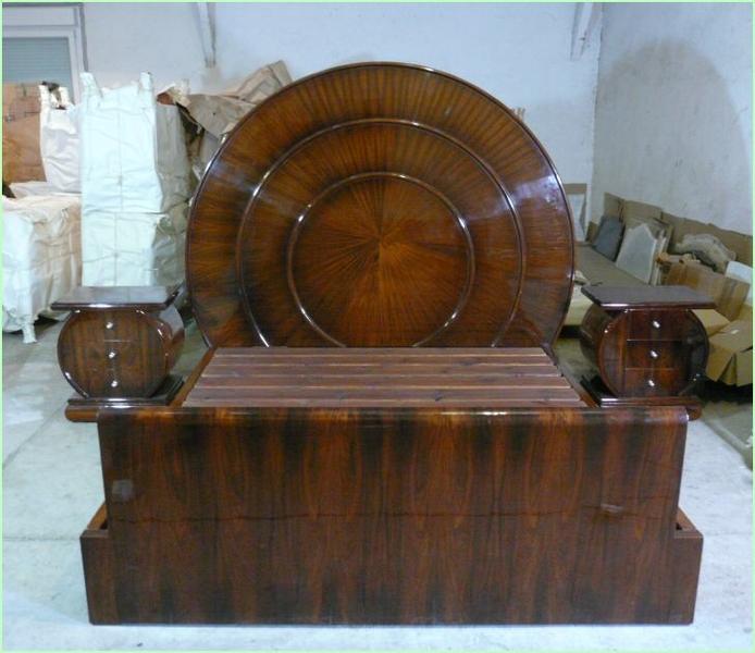 Lit et chevets art d co meubles art d co lampe tiffany fauteuil baroque vase m dicis - Meuble tiffany ...