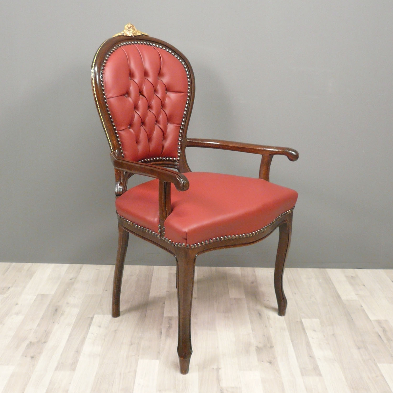 Fauteuil louis xv de bureau meuble louis xv for Meuble fauteuil