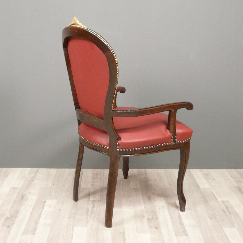 fauteuil louis xv de bureau meuble louis xv. Black Bedroom Furniture Sets. Home Design Ideas