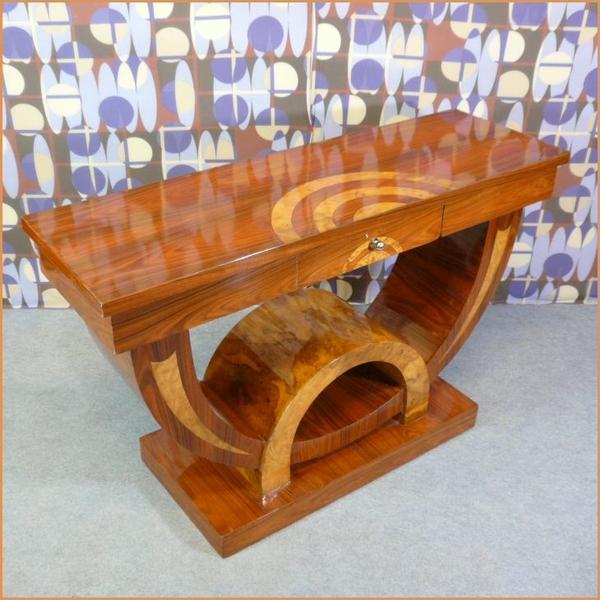 Console style art d co meubles art d co lampe tiffany fauteuil baroque vase m dicis - Meuble tiffany ...