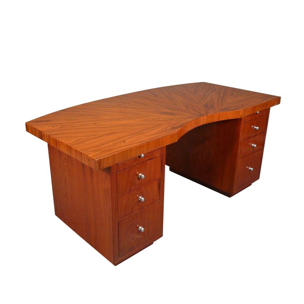 bureau art d co en palissandre mobilier et chaise art d co. Black Bedroom Furniture Sets. Home Design Ideas