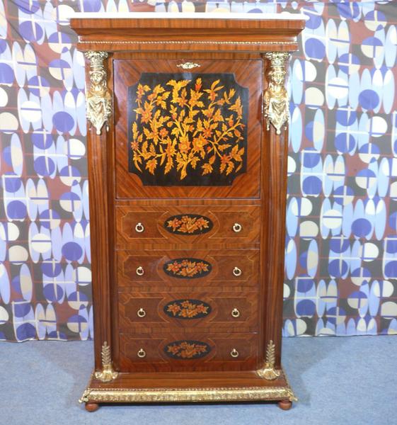Secr taire style empire meubles art d co lampe tiffany fauteuil baroque vase m dicis - Meuble tiffany ...
