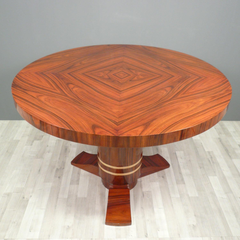 Mesa redonda deco art art deco muebles sillones - Eetkamer art deco ...