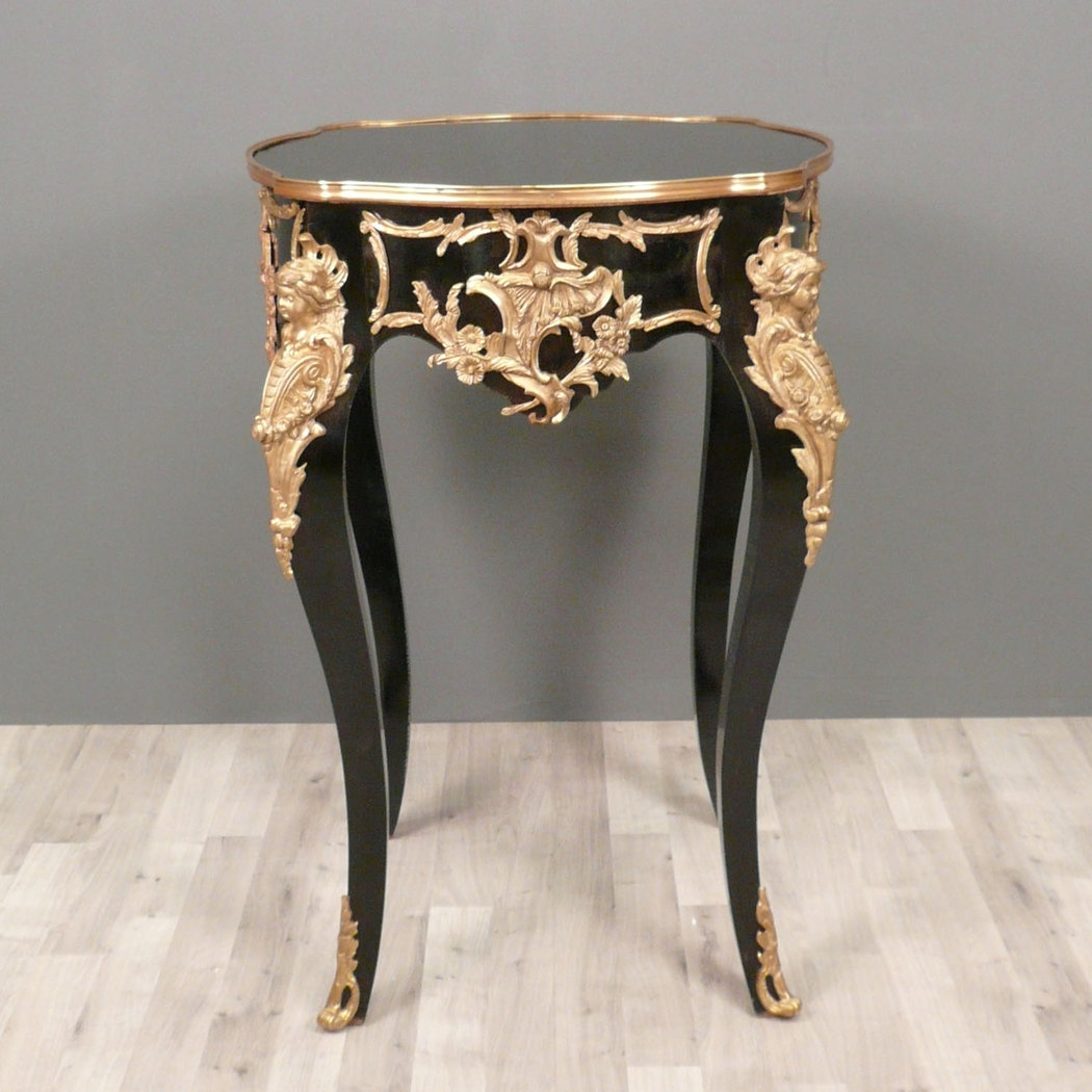 gu ridon louis xv de style boulle gu ridons de style. Black Bedroom Furniture Sets. Home Design Ideas