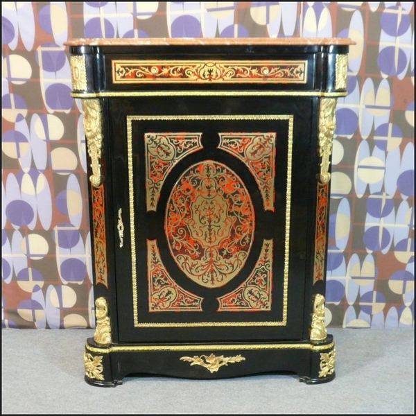 Buffet napol on iii de style boulle meubles art d co for Meuble style napoleon 3