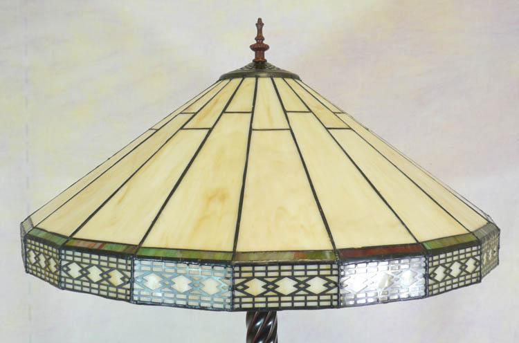 Lampadaire de style tiffany meubles art d co lampe tiffany fauteuil baroque vase m dicis - Meuble tiffany ...