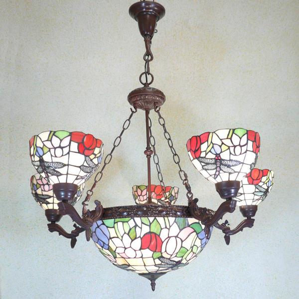 Lustre dragonfly de style tiffany meubles art d co lampe tiffany fauteuil baroque vase - Meuble tiffany ...