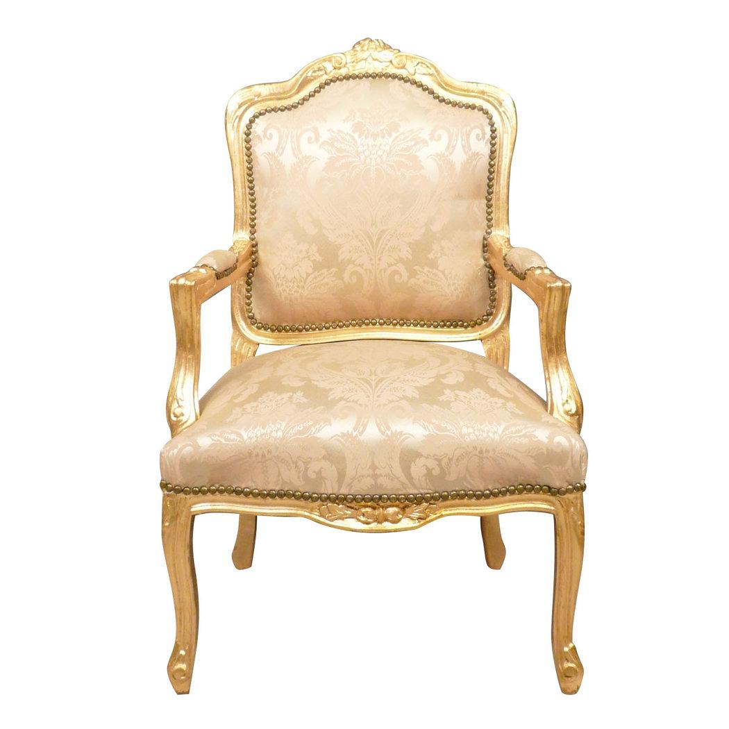 Fauteuil louis xv fauteuil style ancien - Fauteuil ancien en bois ...
