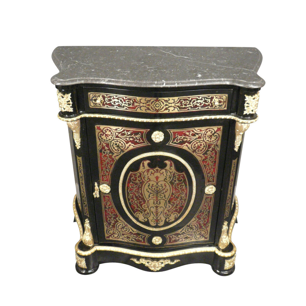 buffet empire de style boulle meubles de style. Black Bedroom Furniture Sets. Home Design Ideas