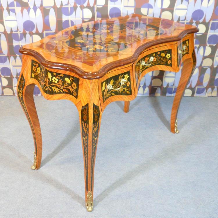 Bureau style louis xv meubles art d co lampe tiffany fauteuil baroque vase m dicis - Meuble tiffany ...