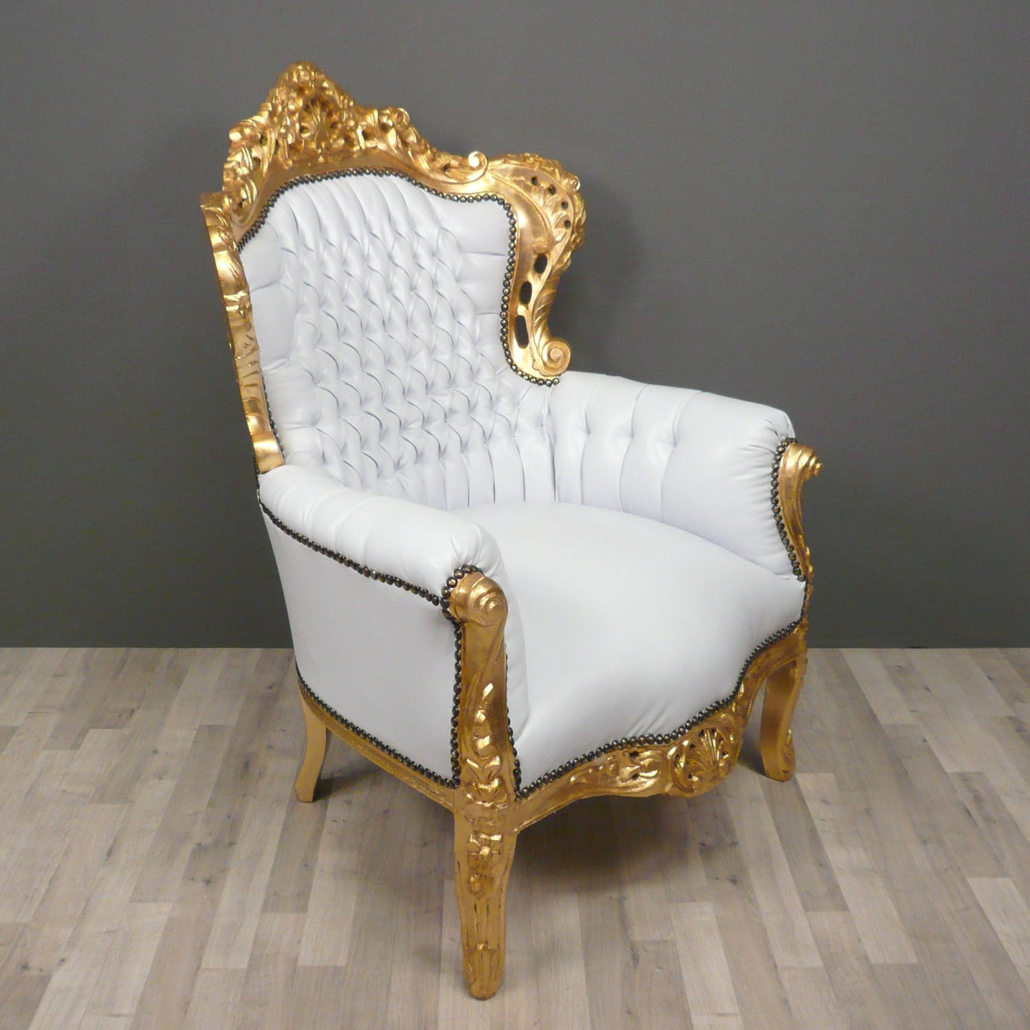 8 types of chairs and how to style them rl - Fauteuil blanc capitonne ...