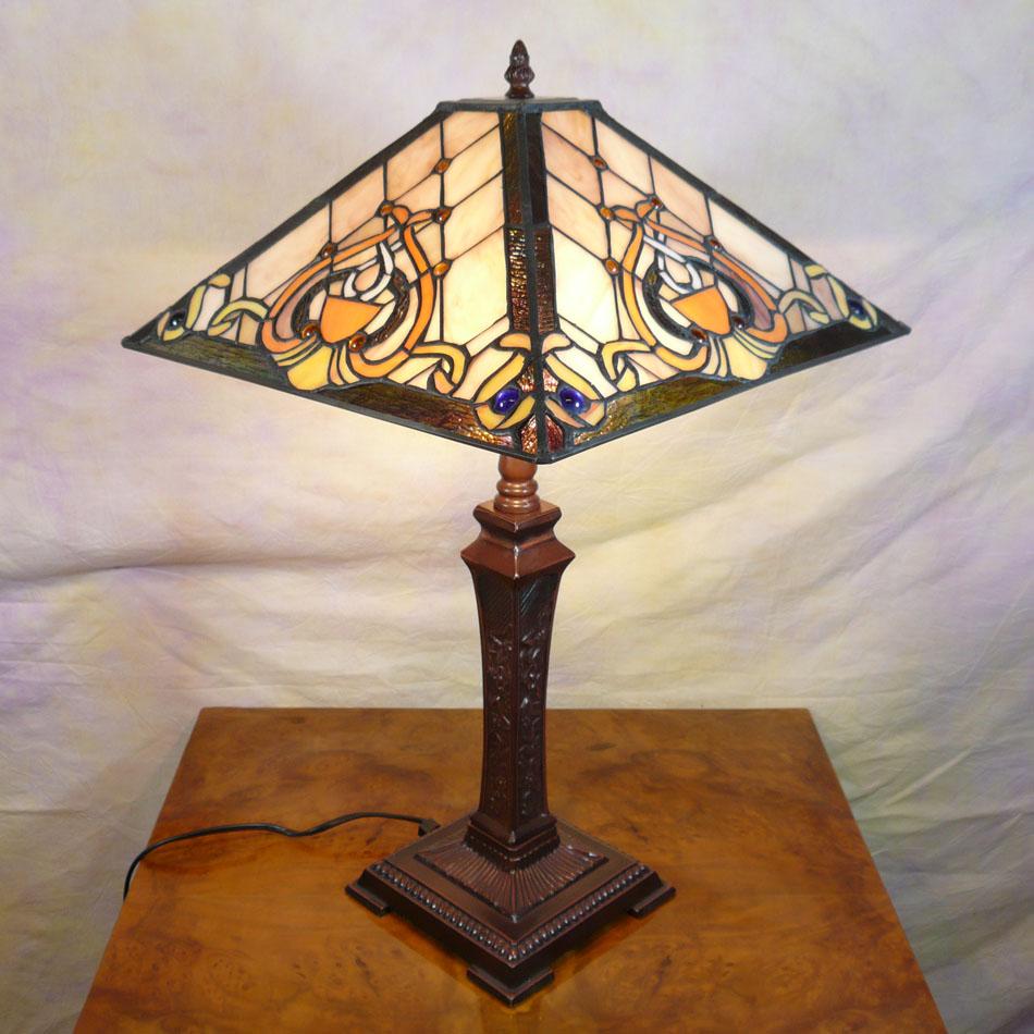 lampe tiffany art d co mobilier baroque. Black Bedroom Furniture Sets. Home Design Ideas