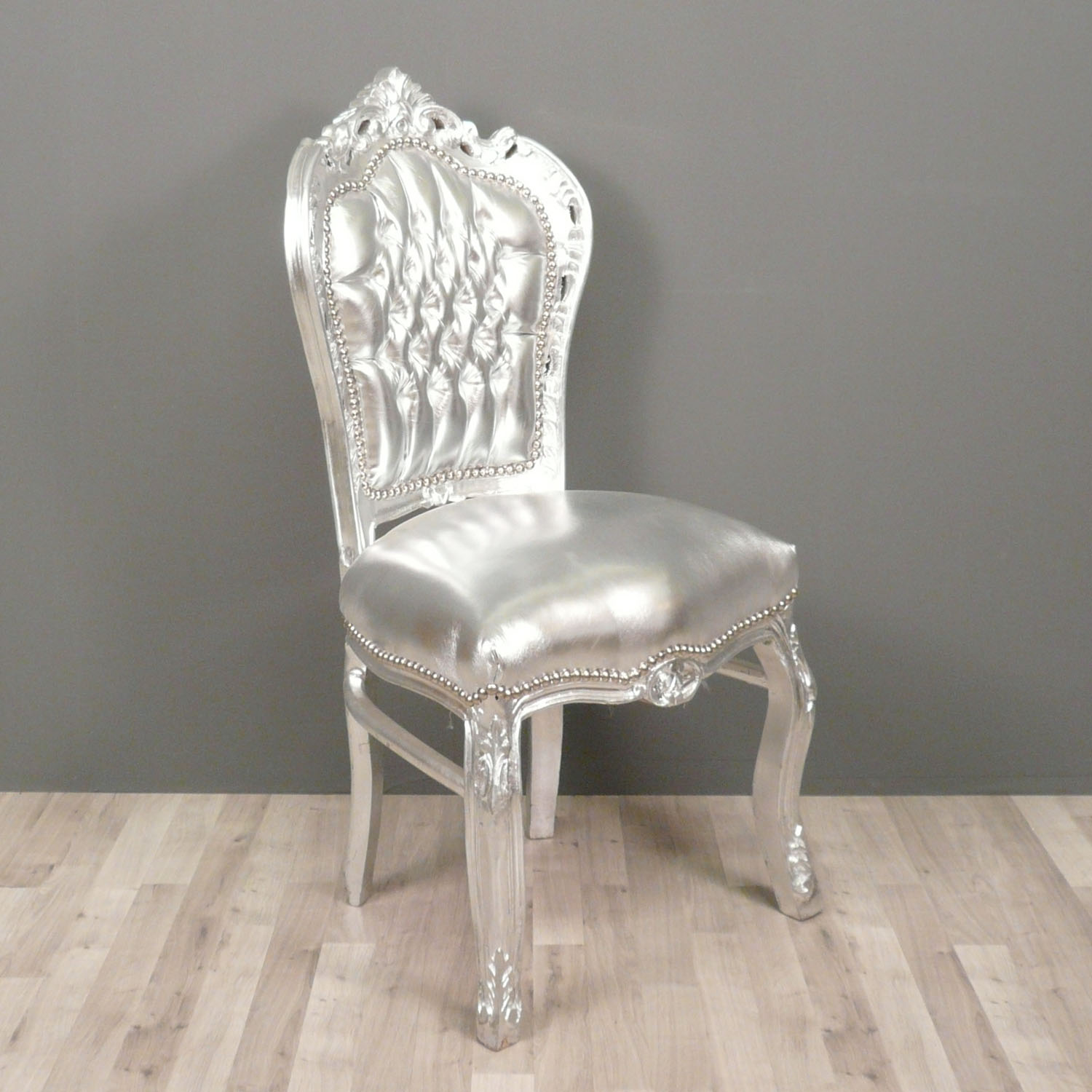 Baroque Chair Silver Tiffany Lamps Bronze Statues