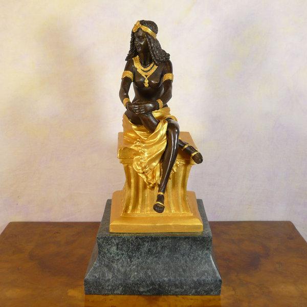 Bronze Statue Of Cleopatra Bronze Sculptures