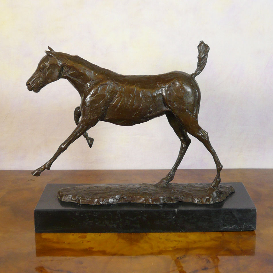 Degas horse sculpture
