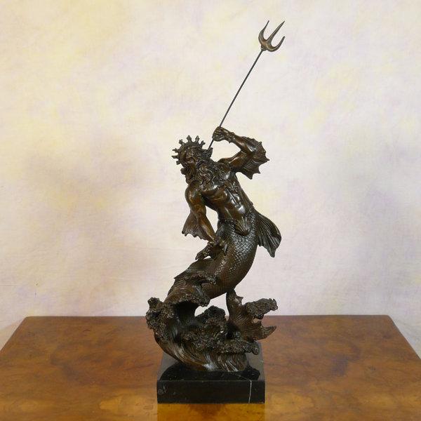 Statue Of Neptune Poseidon Bronze Bronze Sculptures