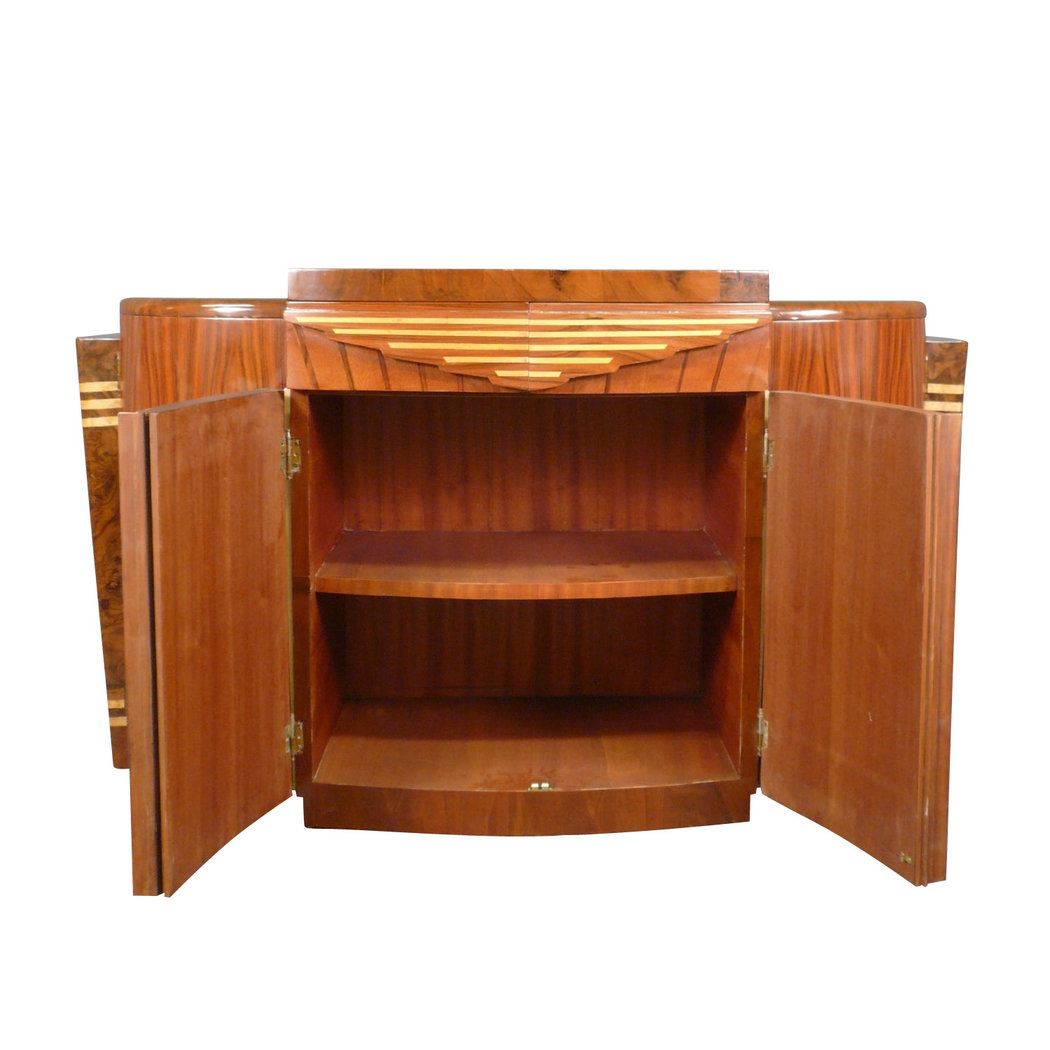 Buffet art d co enfilade art d co meubles art d co for Meuble art deco belgique