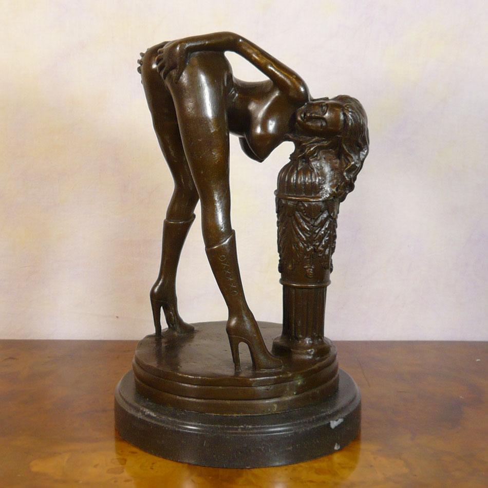Erotic statue lifesize she's hot!