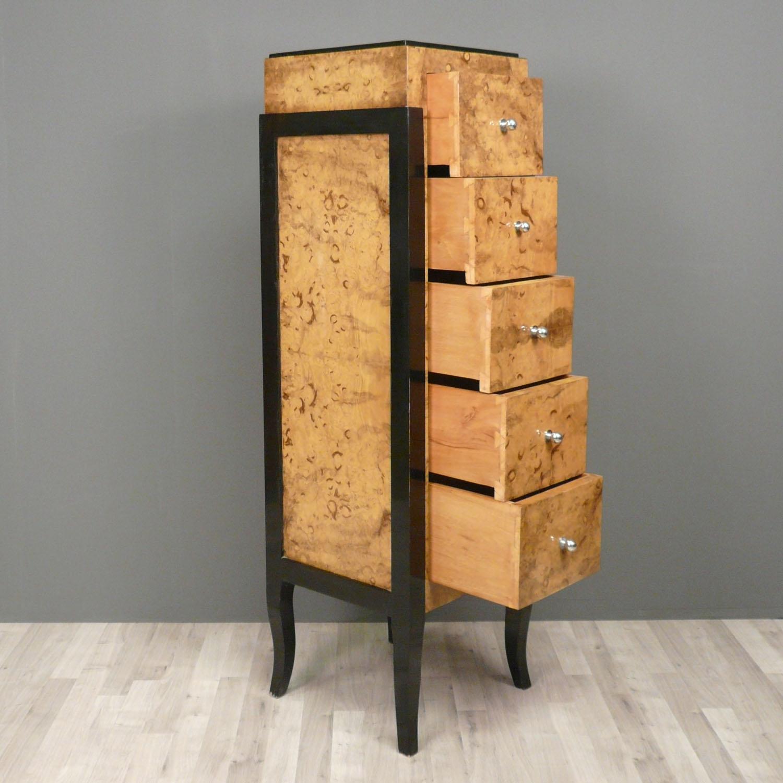 commode di art deco art deco. Black Bedroom Furniture Sets. Home Design Ideas