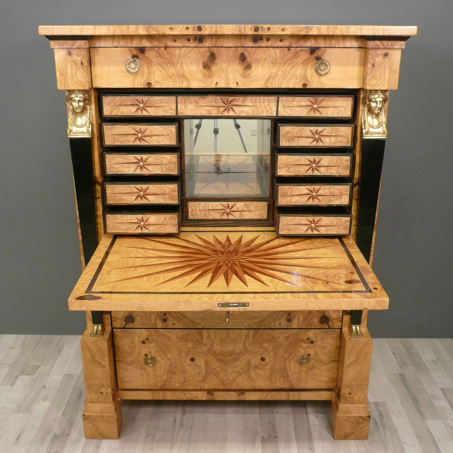 Secr taire empire meubles empire bureau for Meuble bureau secretaire