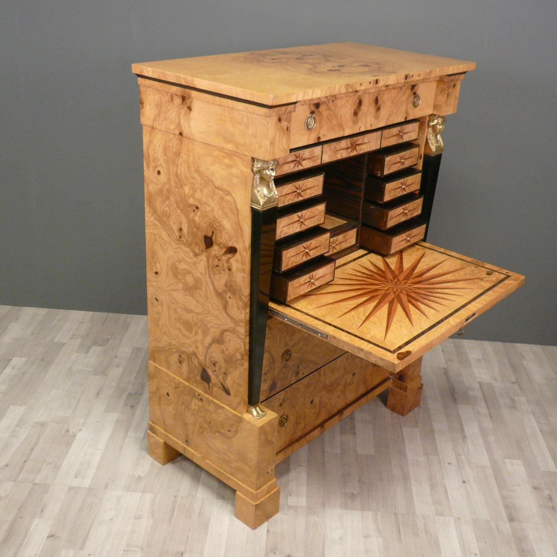 secretary empire empire m bel schreibtisch. Black Bedroom Furniture Sets. Home Design Ideas
