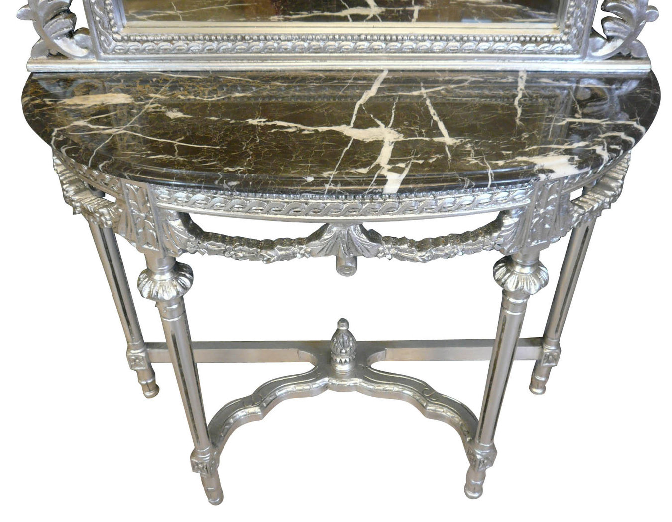 console avec miroir louis xvi meuble baroque. Black Bedroom Furniture Sets. Home Design Ideas