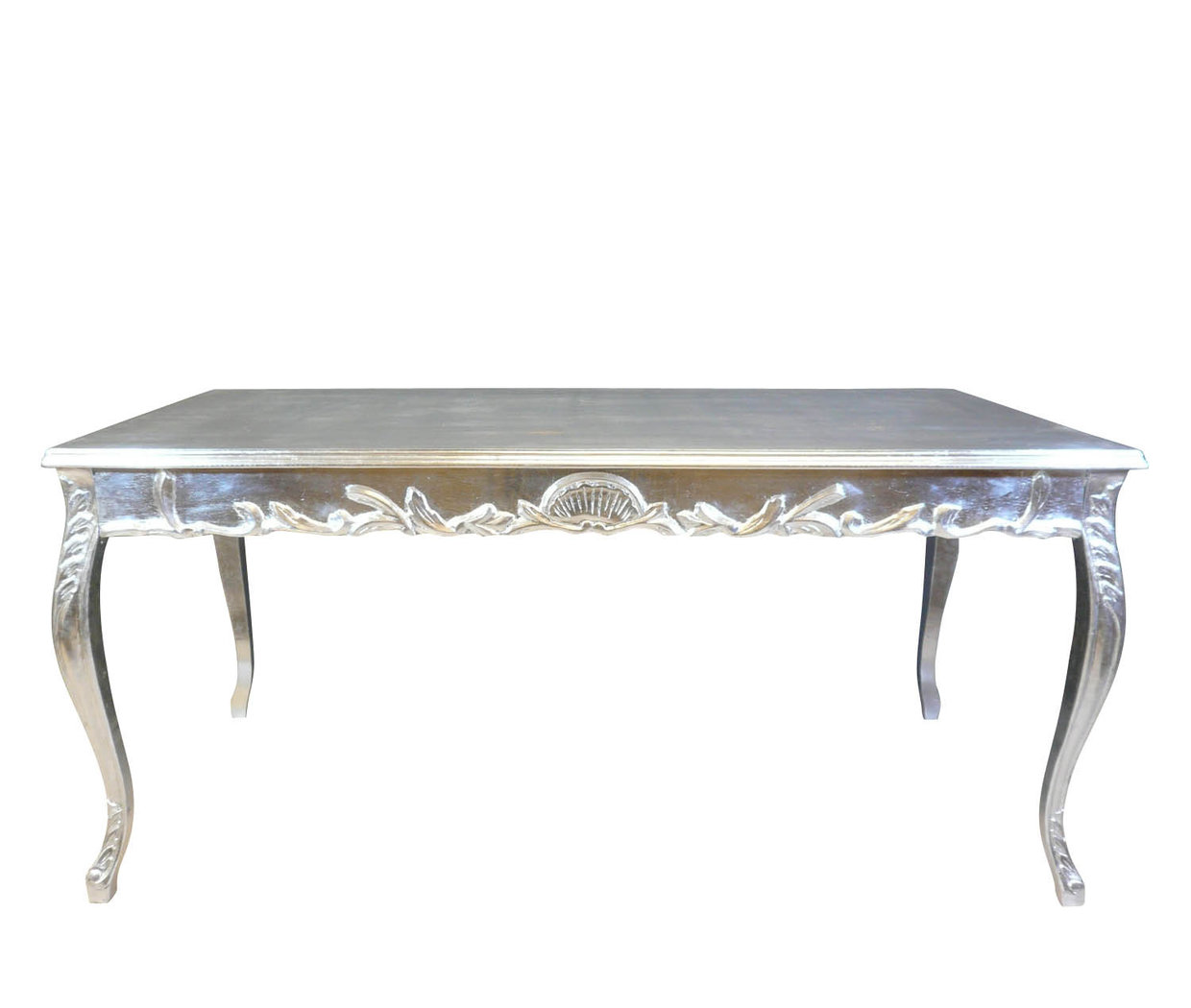 Table baroque argent e chaise baroque - Chaise de bureau baroque ...
