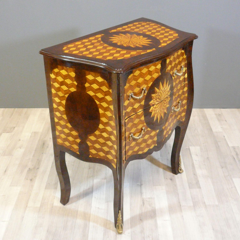 Louis xv commode art deco tiffany lamps bronze - Meubles louis xv ...