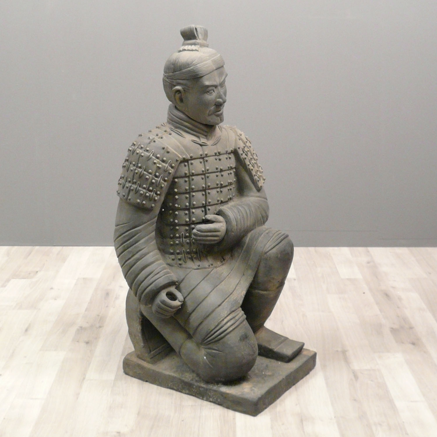 Antique Chinese Reproduction Life Size Terra-cotta Warrior