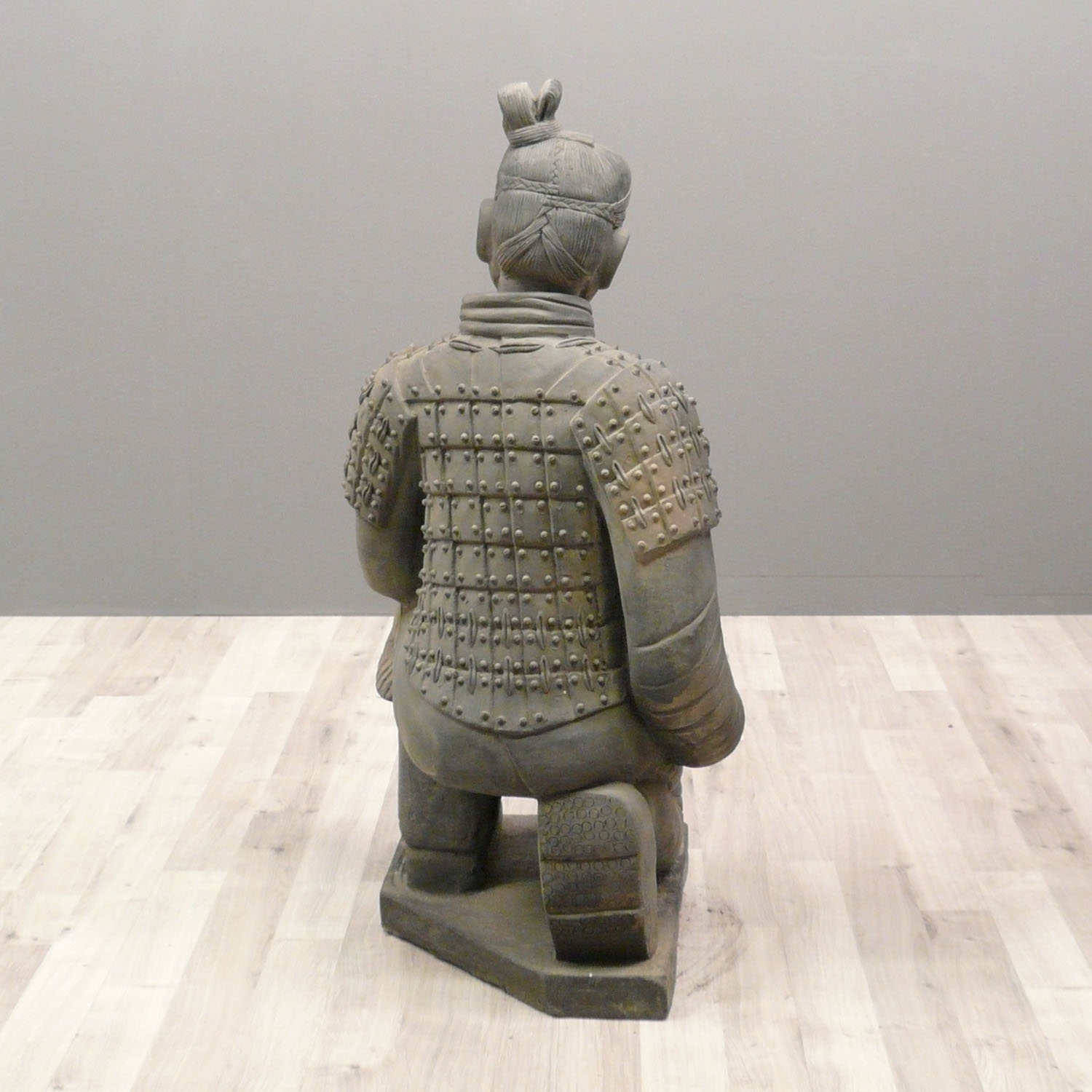 Chinese Warrior Statue Archer 120 Cm Xian Soldiers