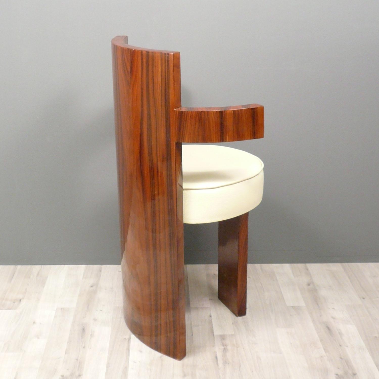 fauteuil de bureau art d co meuble art d co en palissandre. Black Bedroom Furniture Sets. Home Design Ideas