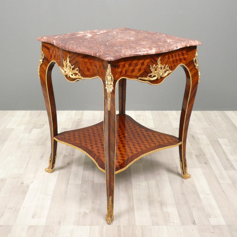 Guéridon Louis XV  Meubles de style -> Pied Meuble Louis Xv
