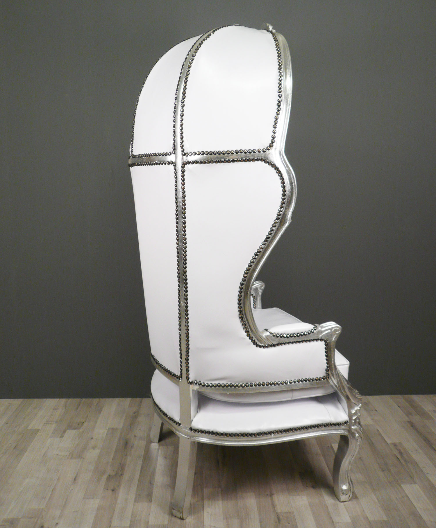 fauteuil baroque carrosse blanc meuble baroque. Black Bedroom Furniture Sets. Home Design Ideas