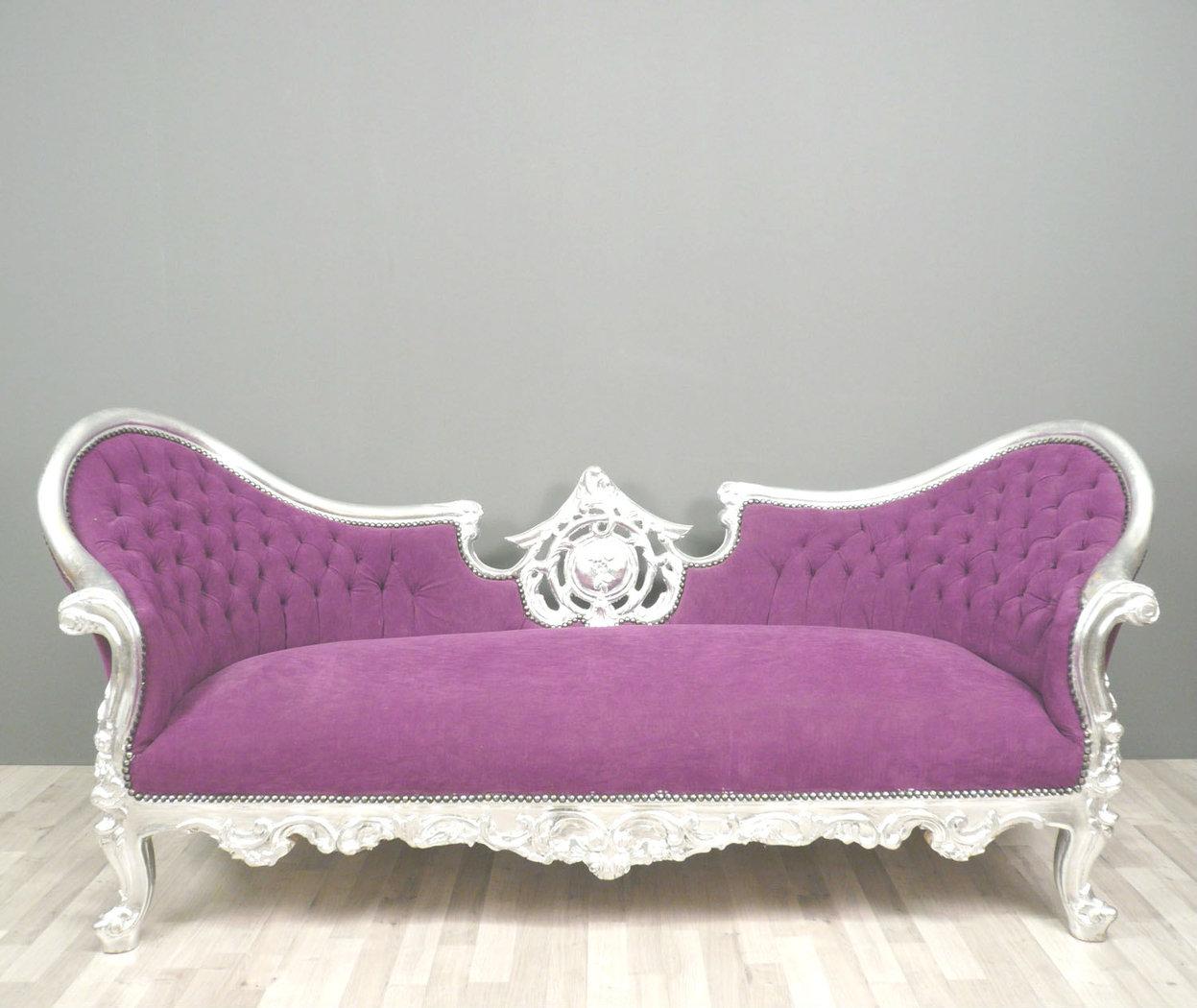 divano viola barocca lampade tiffany. Black Bedroom Furniture Sets. Home Design Ideas