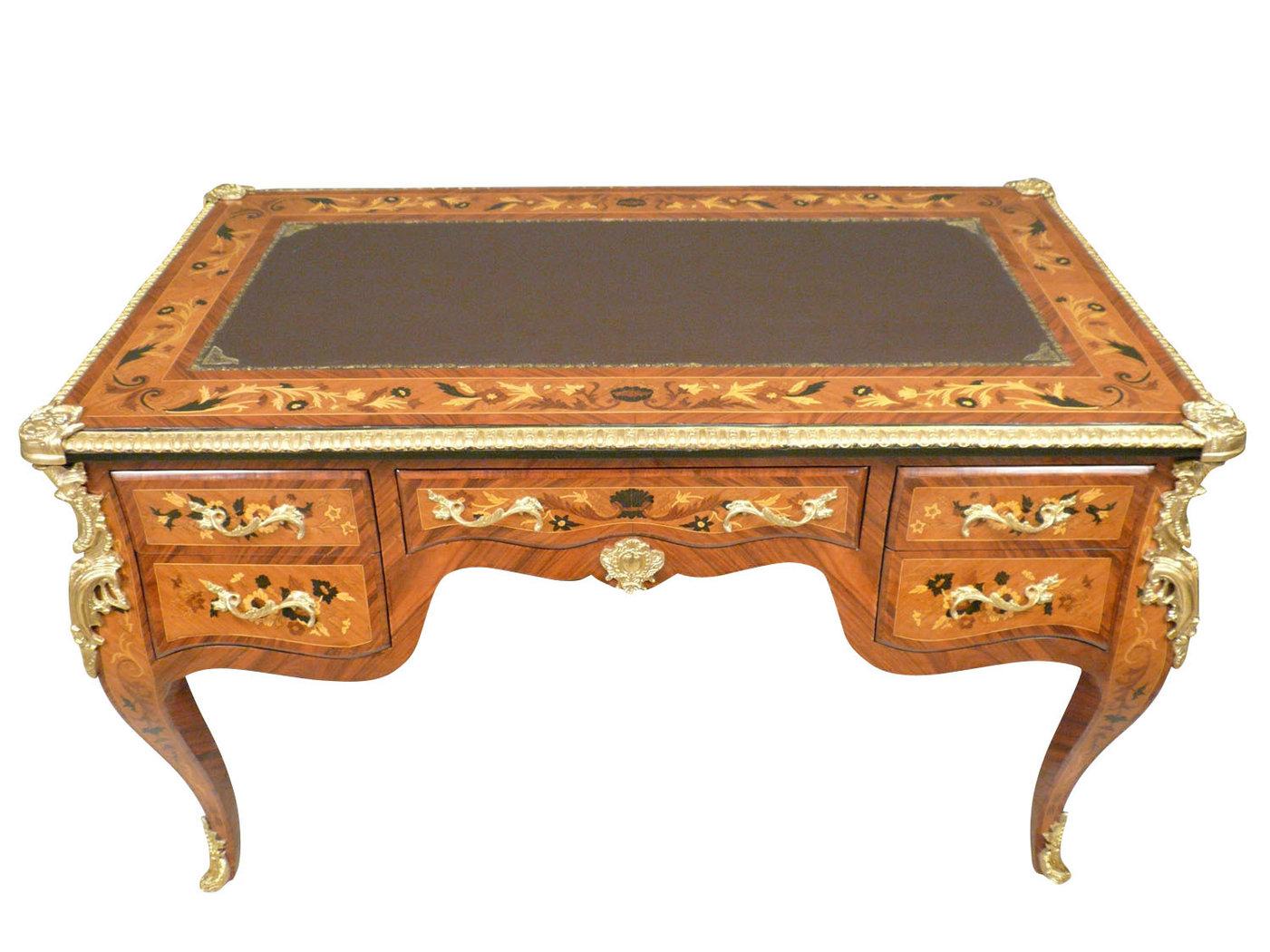 Bureau louis xv vendre meuble louis xv - Bureau en bois a vendre ...