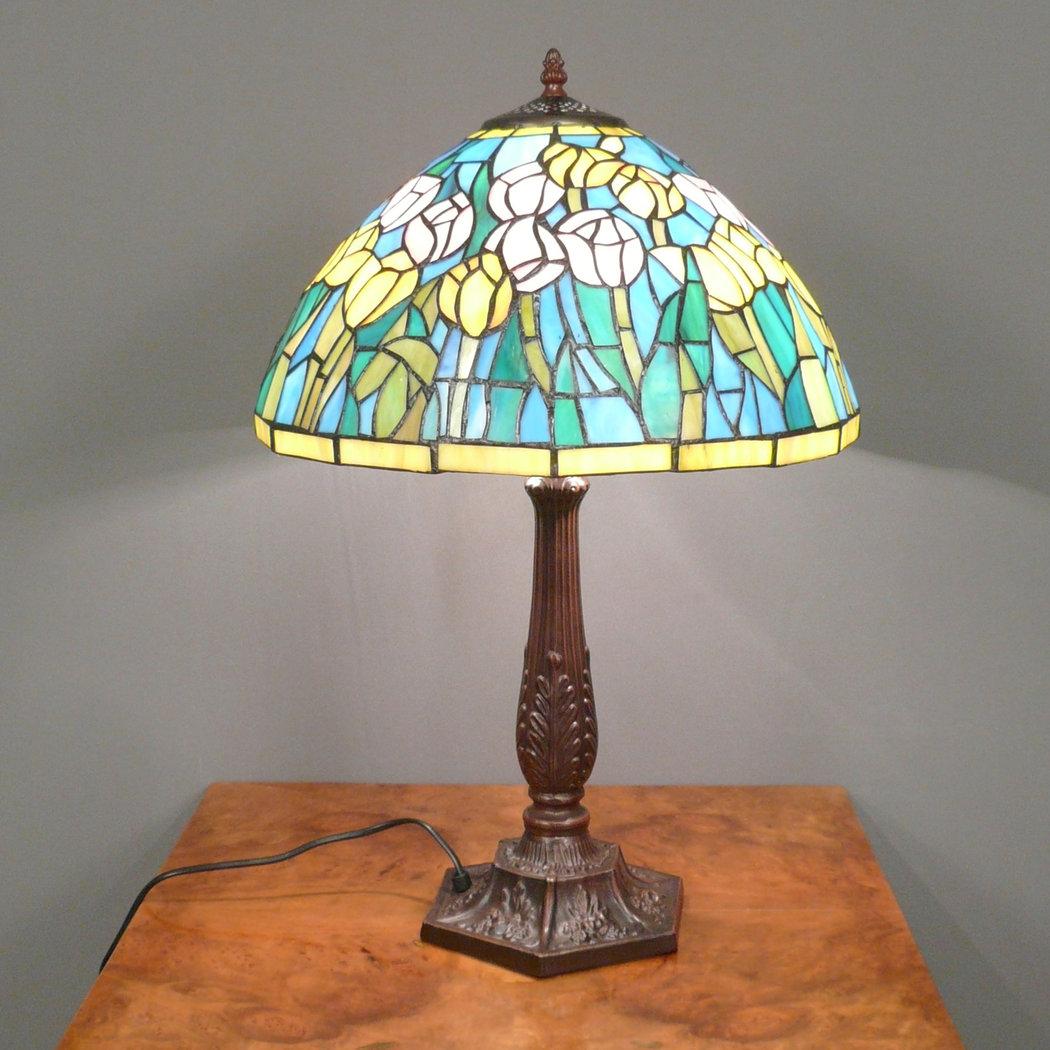 Lampada Tiffany - Lampade da terra - Lampadario