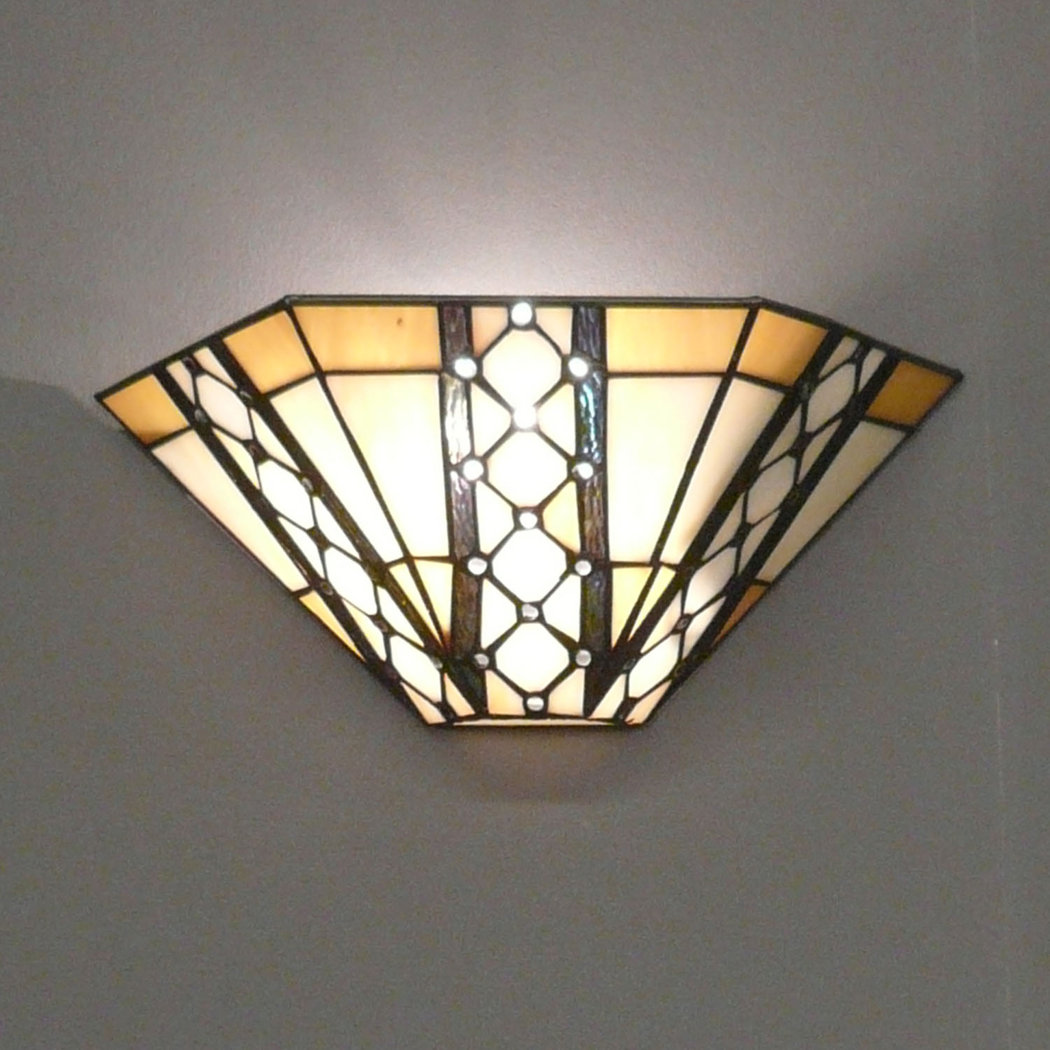 Indoor Wall Light Sconces : Wall sconce Tiffany - Chandeliers
