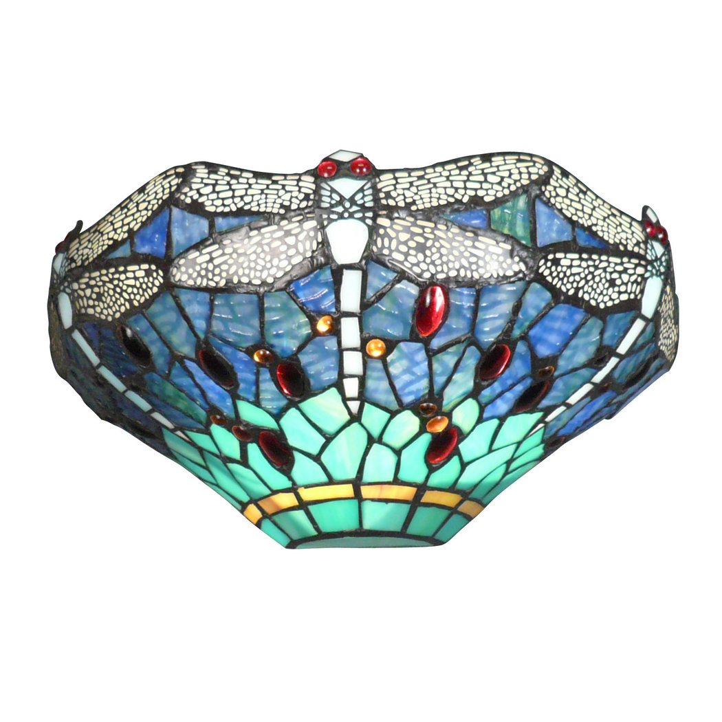 Wall Sconces Tiffany : Dragonflies Wall sconce Tiffany - Chandeliers
