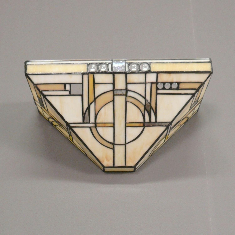 applique tiffany art d co chicago lustres et luminaires. Black Bedroom Furniture Sets. Home Design Ideas